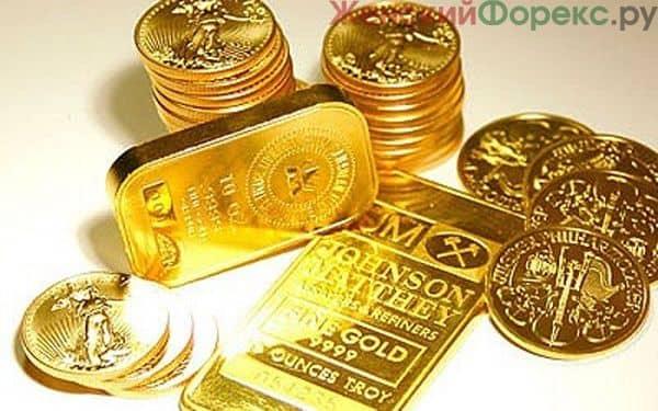 Прогноз цены на золото на год