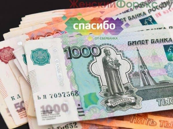 Как обналичить бонусы спасибо от Сбербанка