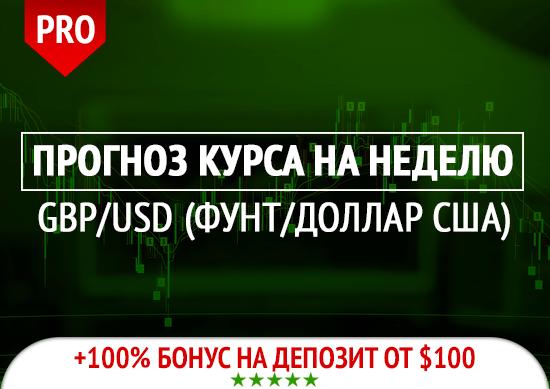 Прогноз Фунт/Доллар (GBPUSD) на неделю 27.04.2020 — 01.05.2020